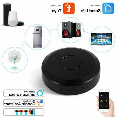 Smart WiFi IR Remote Controller Voice Tuya APP Control For A