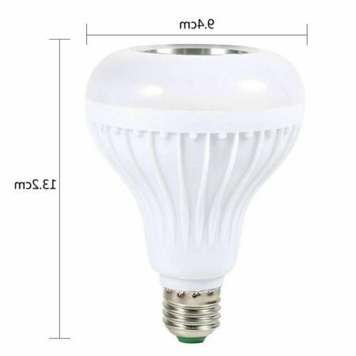 Wireless LED Light Speaker E27 12W