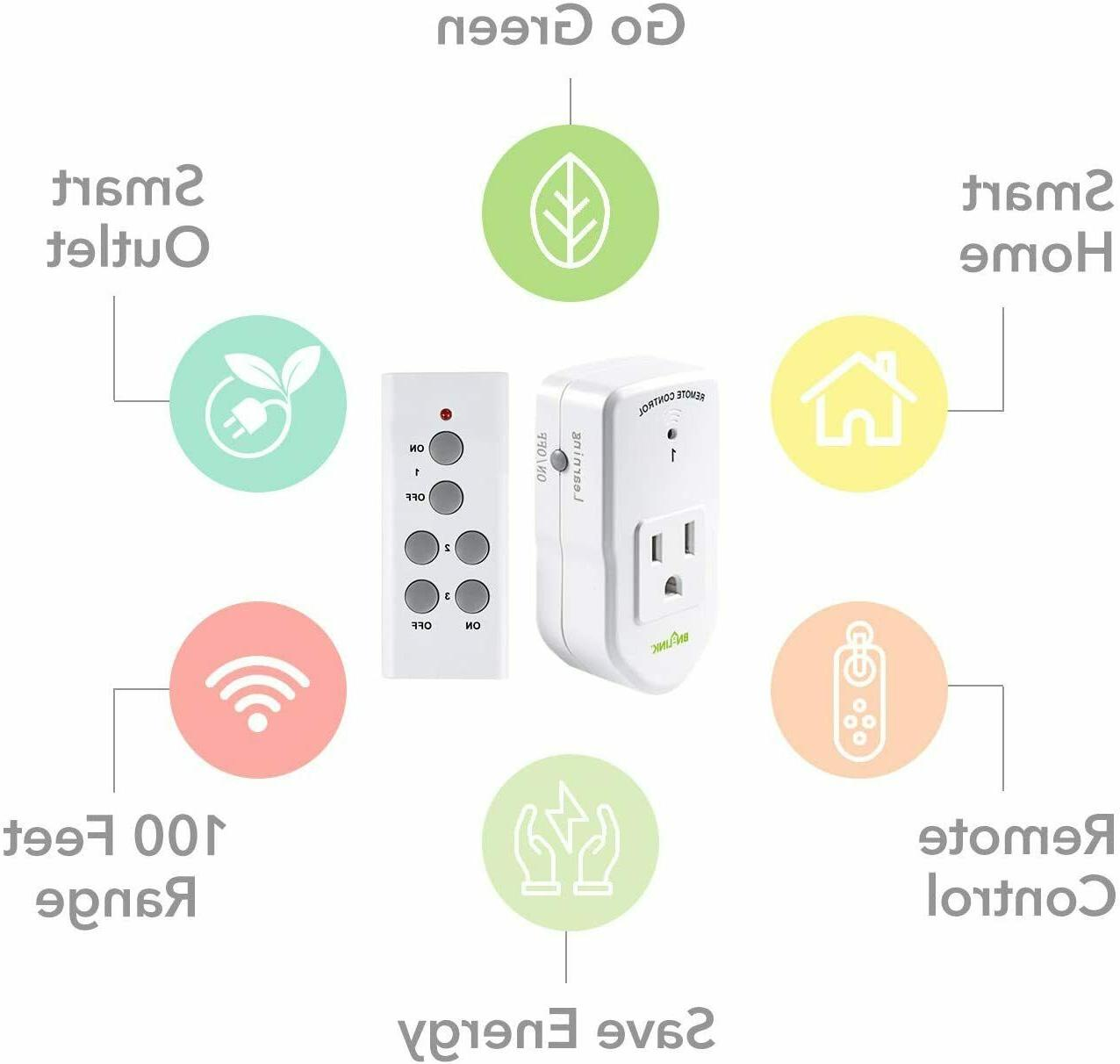 BN LINK Wireless Remote Control for 1