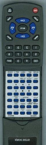 ZENITH Replacement Remote Control for TVBR0912Z, 076X0CC020