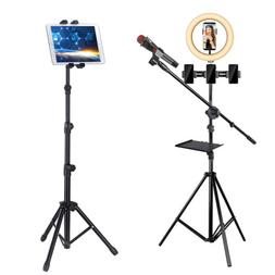 Large Floor Stand Phone Tablet Holder for Youtube Live Video
