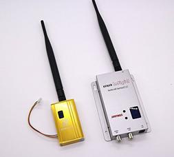 Long Distance 1.2GHz 2W Audio Video Transmitter Receiver FPV