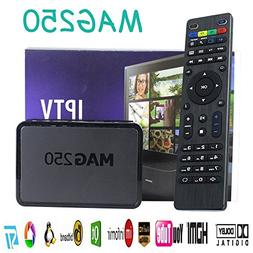 SaferCCTV MAG 250 IPTV Set Top Box With Remote Control Multi