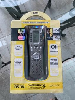 mastercontrol urc universal television remote control rf20
