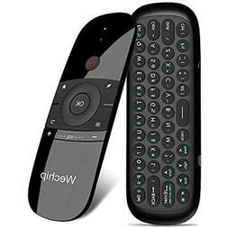 Wechip 2.4G Smart TV Wireless Keyboard Fly Mouse W1 Multifun