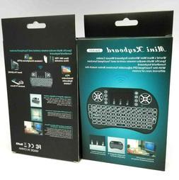Mini 2.4G Wireless Keyboard Remote for Raspberry LG Smart TV