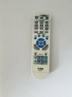 nec universal projector remote control model rd