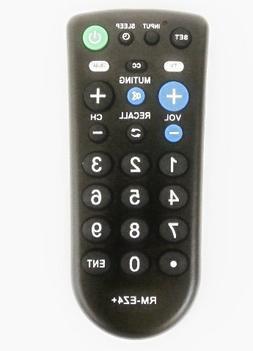 Nettch Sony RM-EZ4 2-Device Universal Remote with Big Button