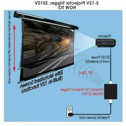 New Elite Screens Inc. ZU12V Universal Wireless 5-12V Projec