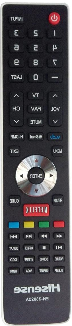 NEW Hisense Smart TV Remote EN-33922A fo