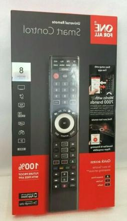 New Opened Box One For All Smart 8-Device Universal Remote B