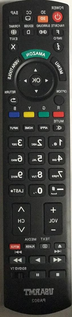 NEW Panasonic TV Blu-ray player Universal Remote by USARMT-N