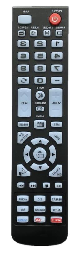 NEW USBRMT Remote Control XHY353-3 for Element TV ELEFW248 E