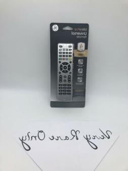 New GE UltraPro 33709 4-Device Universal Remote Control