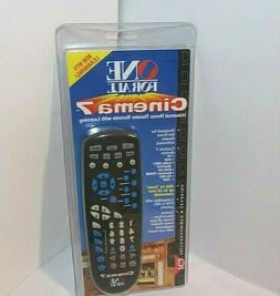 NEW Universal Home Theater Remote ONE FOR ALL Cinema 7 Can C