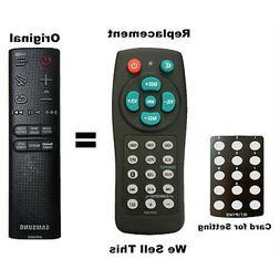 New Universal Soundbar Remote For Samsung AH59-02692E HWJ450