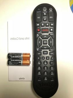 New XFINITY/COMCAST Remote Control XR2  With Manual, 2 Batte