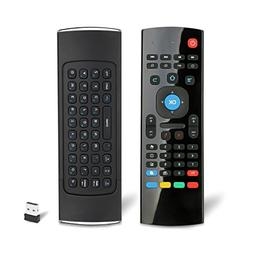 Novanco Air Remote Mouse MX3 Pro, Mini Wireless Keyboard, Pr