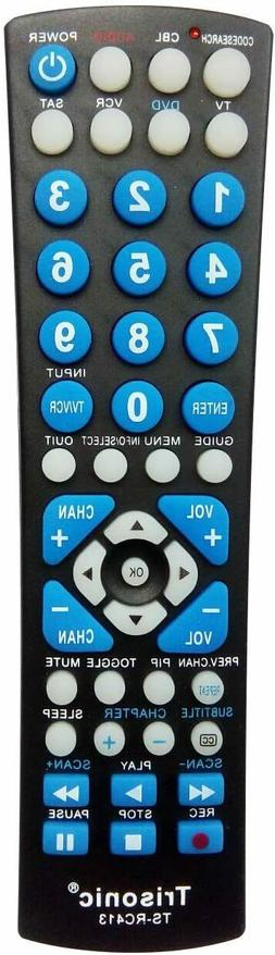 Trisonic 6 Way All in One Universal Remote Control, Programm