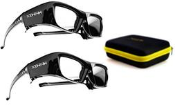 2X Hi-SHOCK Black Diamond | 3D Active Glasses for 2013-2019