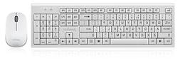 Perixx PERIDUO-711, Wireless Keyboard and Mouse Combo - Nano