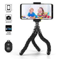 Phone Tripod, Cafele Portable and Adjustable Camera Stand Ho