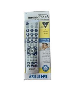 Philips PM335 3 + 2 Device Big Button Universal Remote Contr