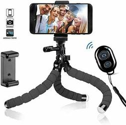 Portable Octopus Flexible Tripod Stand W/ Remote Control For
