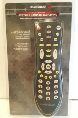 RADIO SHACK satellite/cable universal remote control TV,VCR,