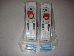 DIRECTV RC66RX IR/RF UNIVERSAL REMOTE CONTROL LOT OF 2 RC65R