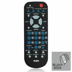 RCR504BE RCA 4-Device Palm Sized Universal Remote