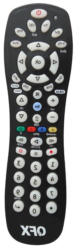QFX REM-6 6-in-1 Universal Remote Control +Auto/Manual Pairi