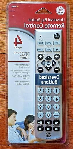 REMOTE CONTROL 4 DEVICE by GE MfrPartNo 24965
