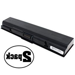 2-Pack Replacement Battery for Toshiba Dynabook TV/68J2 - Co