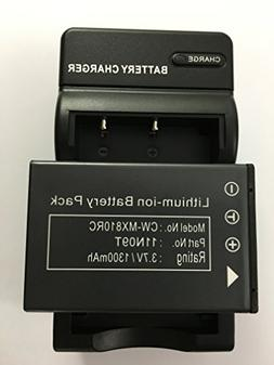 DEEJ Replacement Rechargeable Battery for Universal Remote C