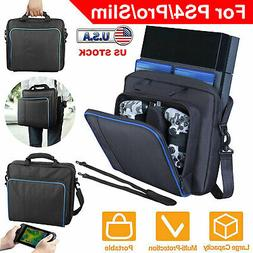 Travel Shoulder Bag Carry Case Handbag Game Console Accessor