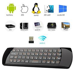 Rii K25 Multifunction Portable 2.4GHz Mini Wireless Fly Mous