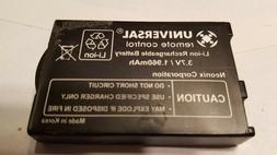 Set of 2 USED Authentic URC 3.7V  Batteries for TRC-1080, RM