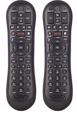 Set of TWO XR2 XFINITY Comcast HDTV DVR Remote Control