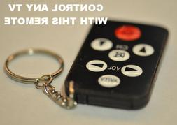 Small Universal TV Television Remote Control Tiny Small Pock