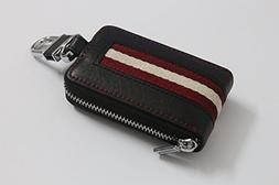 sprated type-8 Car Smart Key Chain Leather Zipper bag Holder