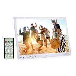 Digital Photo Picture Frame, Andoer 15 inch Digital Picture