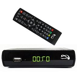 Digital TV Converter Box P19-106 Supports Full HD/USB With R