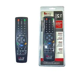 Tv Remote Control Universal 12 Devices TV Video Audio Access