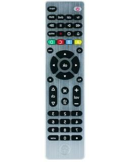 GE Ultra Pro Universal Remote Control 4 Device Brushed Silve