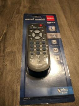 RCA Universal 3-Device Palm-Size Remote Control