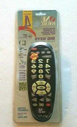 One For All Universal 4 Device Remote Control Glow In The Da