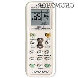 Chunghop Universal Air Conditioner Remote Controller All Mod