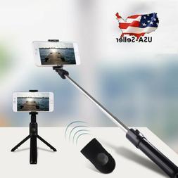Universal Bluetooth Remote Control Extendable Selfie Stick M