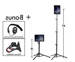 Universal Floor IPad and Tablet Tripod Stand Mount +COMPLIME